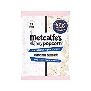 Metcalfe's Skinny Cinema Sweet Popcorn Sharing Bag 70g