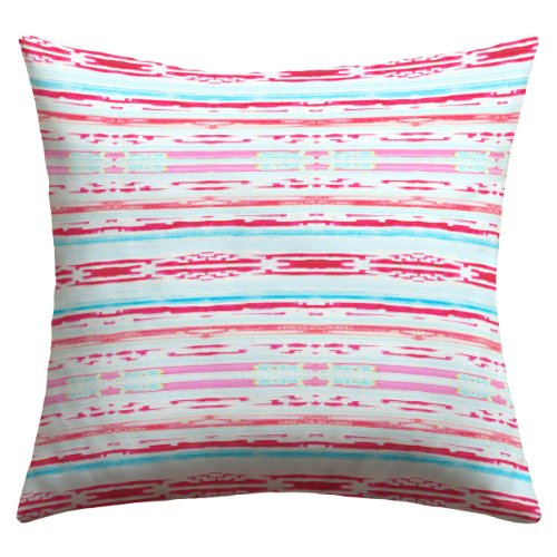 - Deny Designs Hadley Hutton Floral Tribe Collection 6 Outdoor Throw Pillow, 18 x 18