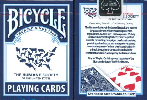 Bicycle Humane Society Playing Cards ()