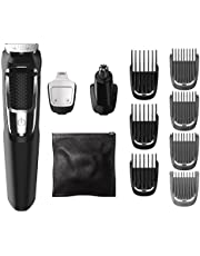 Norelco Philips MG3750 Multigroom All-In-One Series 3000, 13 attachment trimmer