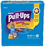 Health & Personal Care : Huggies Pull-Ups Training Pants for Boys with Learning Designs, Mega Pack, Size 4T-5T, 32 ea, 1 pack