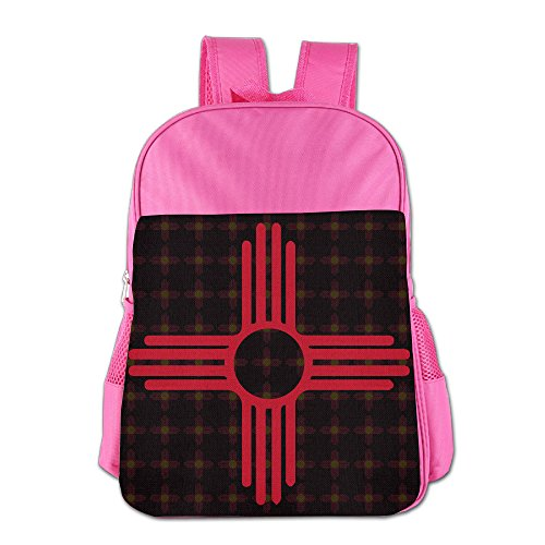 New Mexico Flag Logo School Backpack - Mexico Versace