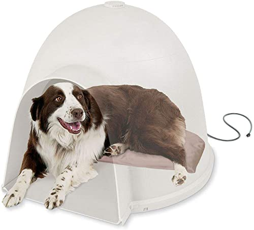 K H Pet Products Lectro-Soft Igloo Style Dog Bed