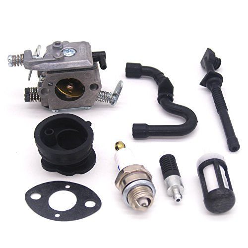 FitBest Carburetor carb for Stihl 018 017 MS170 MS180 Chainsaw Replaces 1130 120 0608 Walbro (Chainsaw Replacment Chain)