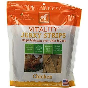 Amazon.com : DOGSWELL Vitality Chicken Jerky Strip Dog