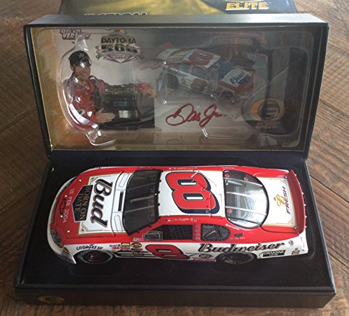 Action RCCA Elite Top of the Line Diecast Dale Earnhardt Jr #8 Daytona 500 15 February 2004 Budweiser Born ON Date Win Raced Version 1/24 Scale Limited Edition HOTO