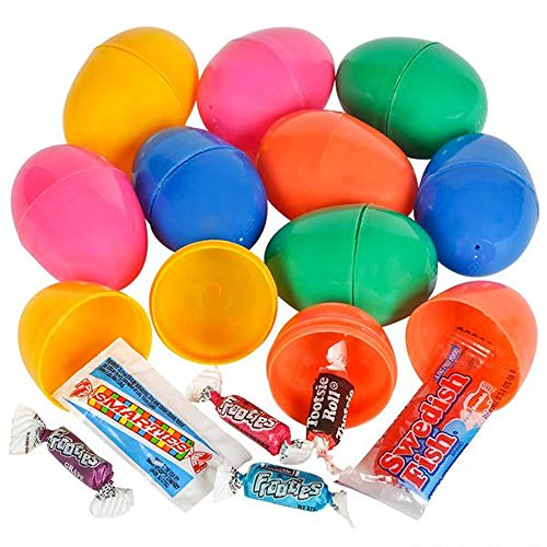 Easter Candy Container - Candy Filled Egg Container - Set of 10-2