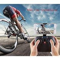 Creazy 2.4G 4CH Altitude Hold HD Camera WIFI FPV RC Quadcopter Pocket Drone Selfie Fold (8807-2.0mp camera)