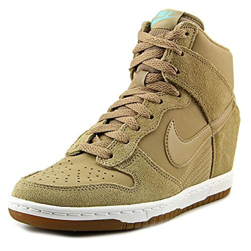 Nike Womens Dunk Sky Hi Essential Casual Shoes (10 B(M) US) (Nike Dunk Sky High Black Wedge Sneakers)