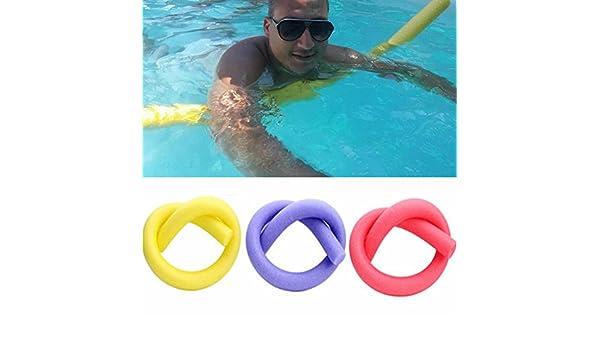 Palos de natación de espuma maciza para piscina, 1 piscina, flotador de agua, espuma de natación, para adultos y niños, espuma gruesa de larga ayuda ...
