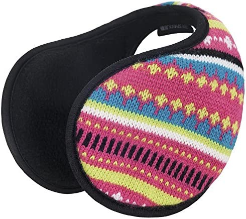 Trespass Girls Kourtney Patterned Fleece Lined Padded Earwarmers