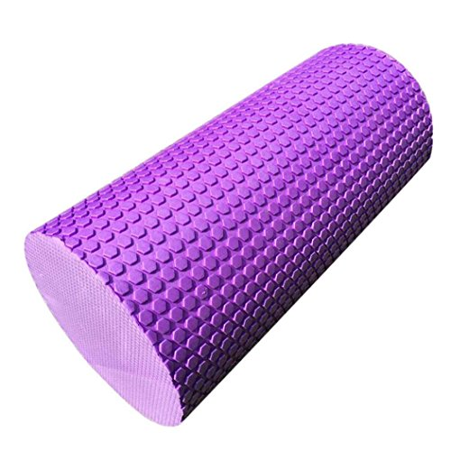 UPC 648839202051, VIASA 30cm Yoga Pilates Massage Fitness Gym Trigger Point Exercise Foam Roller (Purple)