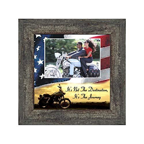 X 4 4 Davidson Harley - Its not the Destination, Harley Davidson Bike, 10X10 9754BW