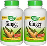 Nature's Way Ginger Root, 550 Mg, 360 Count (360)