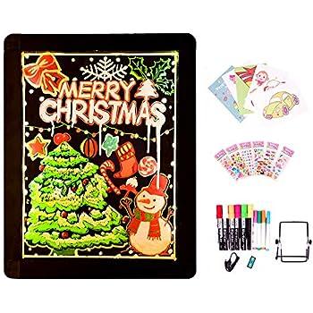 Amazon.com: Voilamart - Tablero de mensajes LED de 32 x 24 ...