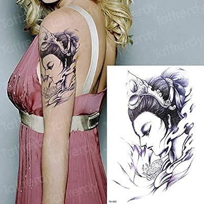 Handaxian Diseño del Tatuaje 3pcsSketch Tatuaje Femenino del ...