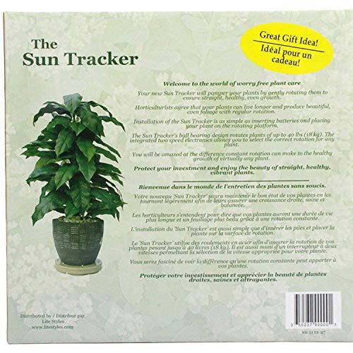 Amazon.com: Sun Tracker Planta Carrusel: Jardín y Exteriores