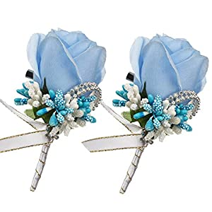 DearHouse Boutonniere for Men Wedding 45