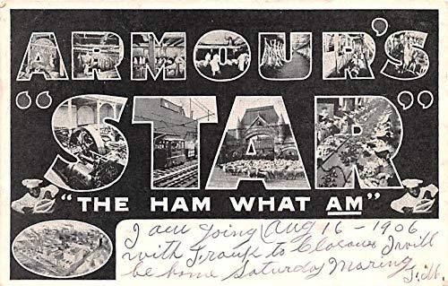 Advertising Post Card Armour's Star Souvenir Postcard 1906
