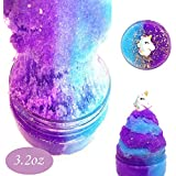 Unicorn Fairy Putty Cloud Slime, Cotton Candy Slime Supplies Stress Relief Toy Scented Sludge Toy for Girls and Boys(120ml)