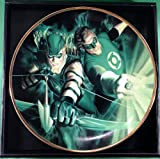 Green Lantern Green Arrow Alex Ross art DC collectors plate #555/1200