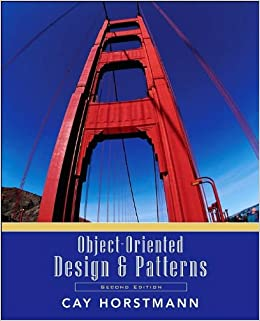Book Object-Oriented Design and Patterns (text only) 2nd(Second) edition by C.S.Horstmann
