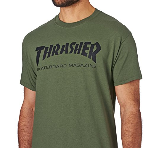 a256c3a2e6a2 Amazon.com  Thrasher T Shirt Skate Mag Short Sleeve T-Shirt  Clothing