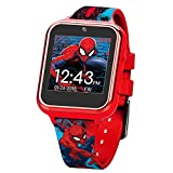 Marvel Boys' Touch-Screen Watch with Silicone Strap, red, 19.5 (Model: SPD4588AZ): more info