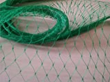 Ecover Bird Netting Garden Net Diamond Anti Bird Mesh Netting - Protect Plants/Fruits Trees, 13x100ft, Green