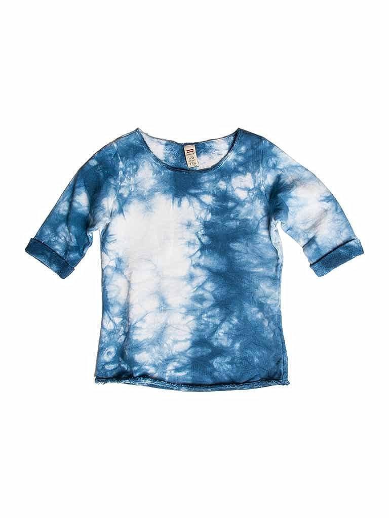 683 - Bleu 3-4 ans (hauteur  104 cm) voiturerera Jeans - T-Shirt 869 pour Fille, MultiCouleure, Taille Normale, Manches 3 4