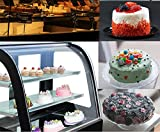 New Refrigerated Cake Showcase Curved Commercial