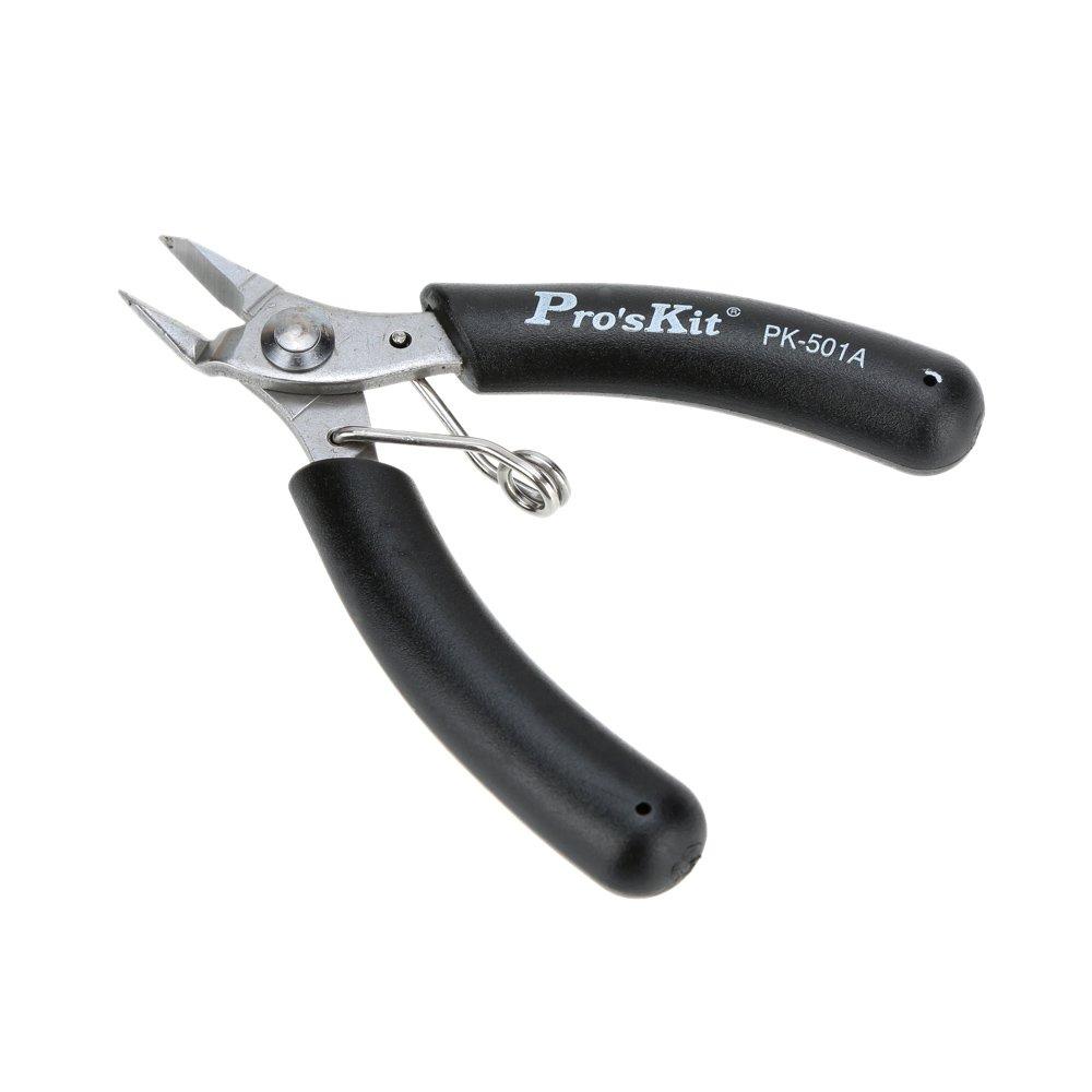 Pince coupante diagonale,Proskit Pinces diagonale mini pinces Coupe-fil de cisaillement Outils de style portables acier inoxydable