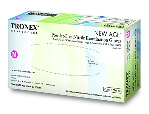 Tronex 9770 -Nitrile Chemotherapy Exam Glove, Fully-Textured, Powder-Free, Blue (Small, Case of 1000) by TRONEX (Image #5)