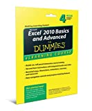 Excel 2010 Basics and Advanced For Dummies eLearning Course Access Code Card (6 Month Subscription)