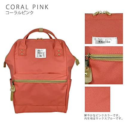 52177be48381 Image Unavailable. Image not available for. Color  Japan Anello Original Backpack  Rucksack Unisex Canvas Quality School Bag ...