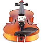 Cecilio-CVN-320L-Ebony-Fitted-Solid-Wood-Left-Handed-Violin-with-Tuner-and-Lesson-Book-Size-14