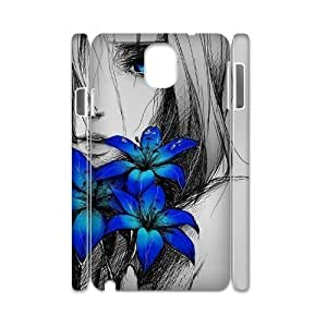 Custom New Case for Samsung Galaxy Note 3 N9000 3D, Art Design Of Girl Phone Case - HL-R674939