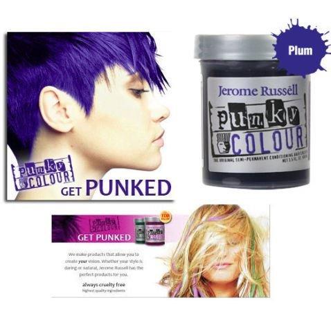 Punky Colour Cream Home,Plum color