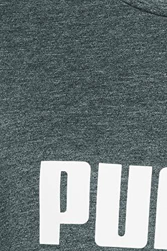 Logo Heather tee Camiseta Mujer PUMA ESS