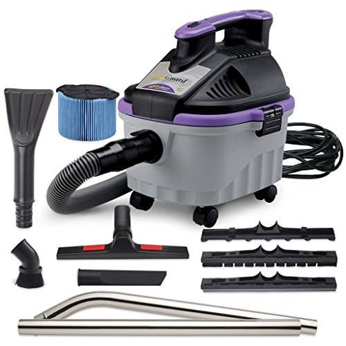 ProTeam Wet Dry Vacuums, ProGuard 4 Portable, 4-Gallon Wet Dry Vacuum Cleaner with Tool Kit by ProTeam