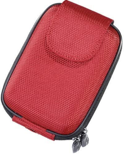 digiETUI Leder and Strap for Nikon Red