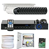 GW Security Inc VD16CHC6 16 Channel HDCVI DVR Camera System, 1.0 Megapixel Color CMOS, 2.8-12mm Lens For Sale