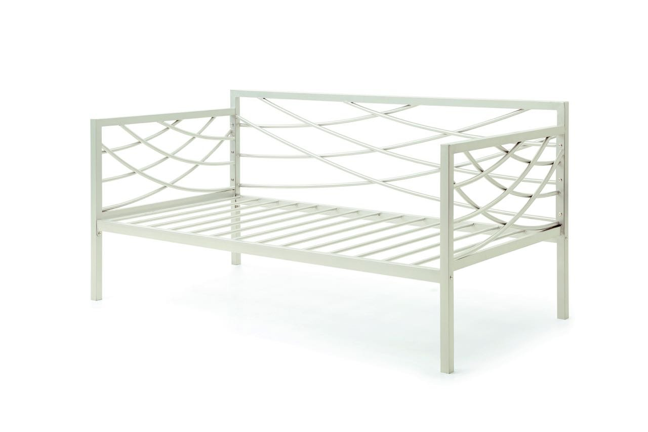 Hodedah HIDB909 Metal Bed, Ivory, 1'' by Hodedah (Image #3)