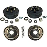 3,500 lbs. Trailer Axle Hydraulic Brake Kit 5-4.5'' Bolt Circle