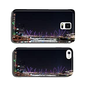 Brisbane City - Kurilpa Bridge At Night - Queensland - Australia cell phone cover case Samsung S6