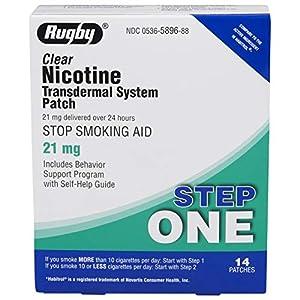 RUGBY Nicotine TDS Patch 21MG NICOTINE
