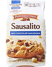 Pepperidge Farm Sausalito Milk Chocolate Macadamia Nut Chunk Cookies, 204g