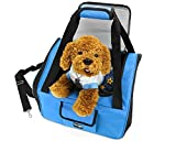 Yes4All Best Pet Booster Seat for Cars, Trucks and SUVs - L - Light Blue - ²DX5AZ