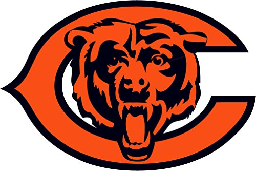 (Chicago Bears NFL Football Art Decor Vinyl Sticker 14'' X)