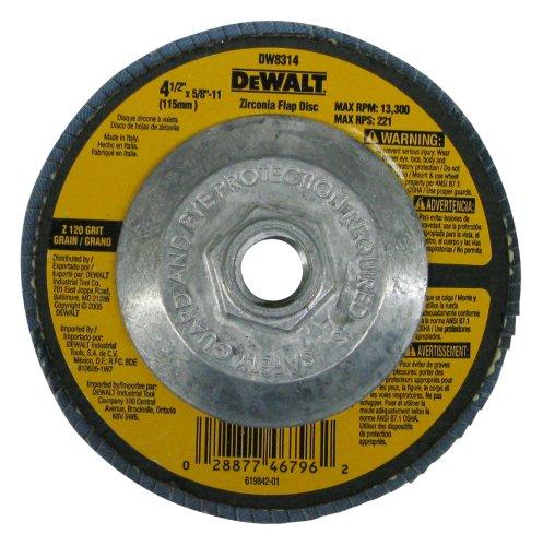 DEWALT DW8314 8 Inch 11 Zirconia Grinder